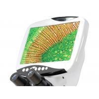 China 1920 × 1080 / 30fps Video Resolution Wide Field Eyepiece WF10 × / 18 LCD Digital Microscope BLM - 260 on sale
