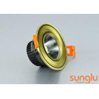Quality Smart Home Dimmable LED Downlights , LED Recessed Downlights With Curved Face wholesale