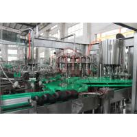 Quality PLC Control Electric Driven Glass Bottle Filling Machine With Highly Speed wholesale