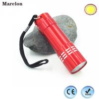 Quality 45g Weight Cob Led Torch Flashlight , Mini LED Flashlight With Lanyard wholesale