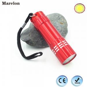Buy cheap Cob LED flashlight, cob led torch, mini LED flashlight with landyard from wholesalers