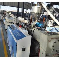 China PVC Foamed WPC Board Production Line For Wood Power With Recycled Plastic on sale
