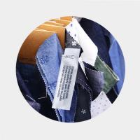 China Shop Labels 58kHz EAS Am Soft Label for Clothes  label in woven pocket on sale