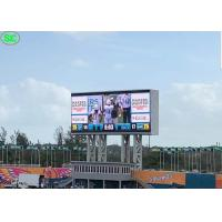 China Front Maintenance External Electronic Signs Led Display Stadium P10 8000cd/㎡ Brightness on sale