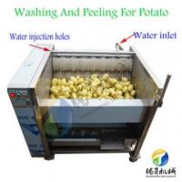 Quality Sweet potato peeling washing machine/taro peeler and washer machine vegetables and fruits potato peeler wholesale