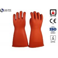 Quality Acid Protection Dupont PPE Safety Gloves , Fire Safety Hand Gloves For Hazardous Chemicals wholesale