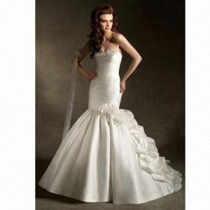 Quality 2012 Latest Mermaid Bodice Wedding Dress/Bridal Gown wholesale