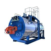 Quality High Pressure Gas Fired Steam Boiler , 1 Ton Atomized Steel Steam Gas Heating Boiler wholesale