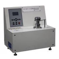 China Physical Leather Crack Testing Machine And Measurement Equipment For Ball Burst Test on sale