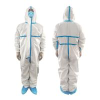 Quality Polypropylene Non Woven Waterproof Isolation Gown Single Use Non Irritating wholesale