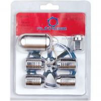 China wheel locks with key,4 nuts for one set on sale