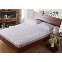 Diamond Quilted Mattress Protector , King Size Mattress Topper ZB-MP-07