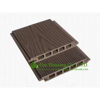 China 100% Recycled Outdoor WPC decking With Wood Color, Easy Installation and Environmental Friendly on sale