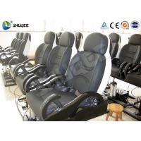 Quality Fiberglass 5D Electronic Cinema Motion Chair Genuine Leather With Spray Air wholesale
