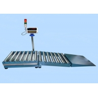 Quality 100KG 5G Slope RCSR6060 Roller Conveyor Machine Weighing Scale Alloy Steel wholesale