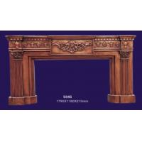 Quality 18th Century Antique English Style Decortive Fake Fireplace Frame Mantel 5045 wholesale