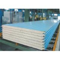 Quality Polyurethane Composite Sandwich Panels Roof Sandwich Panel Class B Fireproof wholesale