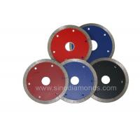Quality High Speed Diamond Tile Saw Blade 110mm Tile Cutter Blade Long Cutting Life wholesale