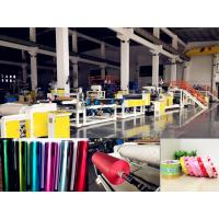 Buy cheap AF-1000mm PP Jumbo Roll Ribbon Film Sheet Extrusion Machine For Gift Packaging from wholesalers
