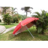Quality Red Outdoor Advertising Umbrellas With 420D Polyester Fabric , Water Tank Base wholesale