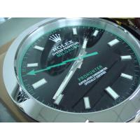Quality Sell Super mute designer Wall Clock SUB water ghost luminous whole stainless steel metal wholesale