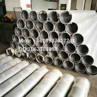 Quality 8 inch Plain End Galvanized Low Carbon Johnson Type Screens for Water Well Drilling wholesale
