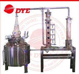 Quality 150L Wine Commercial Distilling Equipment , Steam Distillation Apparatus wholesale