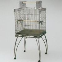 Quality Pet/Parrot Cage, Made of Wire and Plastic, Measures 58x58x146cm wholesale