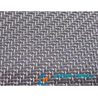 """Quality Stainless Steel 304 316 Wire Cloth, 270Mesh Twill Weave 0.0016"""" Wire 48"""" Wide wholesale"""