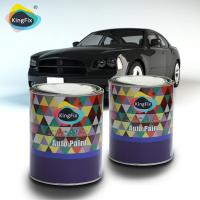 China Two component acrylic polyurethane car paint for existing finishes on sale