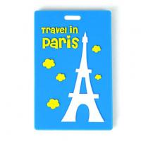 Cheap Promotional plastic cartoon design Baggage Tag for sale