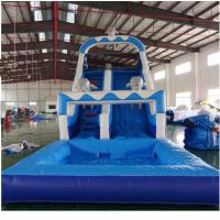 Quality Kids Sport Game Water Slide Inflatable Amusement Park Outdoor Safe And Stable PVC wholesale