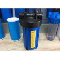 """Quality 10"""" Big Blue PP Single """"O"""" Ring Water Filtration Housing For Water Purifier wholesale"""