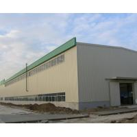 China light prefab steel structure PU panel warehouse on sale