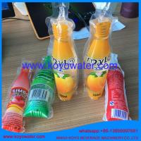 Quality carbonated soft drink making machine/plastic bottle shape pouch soft drink packaging machine/mini bag drink filling mach wholesale