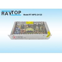 Quality Wholesale Factory Price AC/DC Single Output Metal Case Led Switching Power Supply 24V 5A wholesale