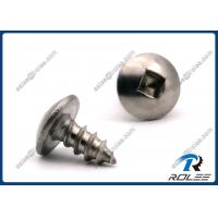 Quality Passivated Stainless Steel 410 Square Drive Truss Head Sheet Metal Screws wholesale