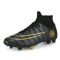 China Boy's Athletic Comfy Football Boots , Lightweight Soccer Cleats Breathable on sale