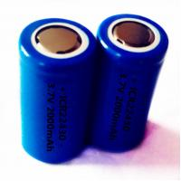 Quality ICR22430 3.7V 2000mAh li-ion rechargeable battery wholesale