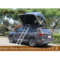 Quality Manually Car Top Roof Rack Tent Open In One Side Aluminum Frame For Suv wholesale
