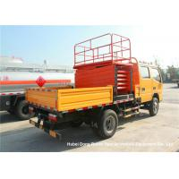 Quality Dongfeng 8-10M Man Lift Boom Truck For High Operation LHD / RHD EURO 3 wholesale