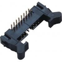 Quality 90°DIP Ejector Latch Header Male 16 Pin Idc Connector 2.00mm Pcb Pin Header wholesale