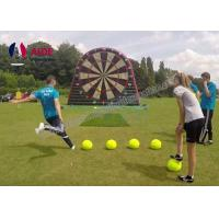 Cheap Rental Inflatable Sports Equipment Football Game Giant Inflatable Dart Board for sale