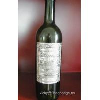 Quality Embossed Metal Label For Wine And Spirit Bottles wholesale