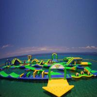 Buy cheap Customized Anti UV Heat Resistance Inflatable Water Park from wholesalers