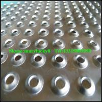 Quality Dimpled perforated metal sheet /extruded perforated metals wholesale