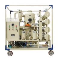 Quality Vacuum Transformer Mobile Oil Treatment Plant / Insulating Oil Portable Oil Purifier wholesale