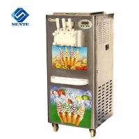 Quality With 3 Outlets Commercial Soft Ice Cream Machinery/Ice Cream Machine For Sale wholesale