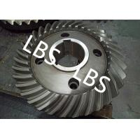 Quality Steel Spiral Bevel Double Helical Gear Shaft Polishing Anodic Oxidation wholesale