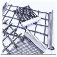 Quality Stainless Steel Crimped Wire Mesh Barbecue Grill / Mine Screen 1-10mm Wire Gauge wholesale